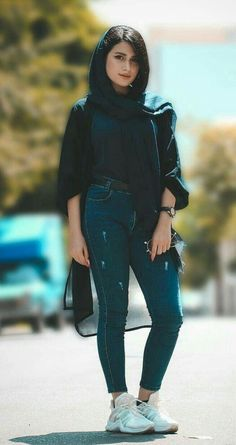 Persian girl style Iranian fashion – www. Hijab Fashion, Girl Fashion, Fashion Outfits, Womens Fashion, Muslim Girls, Muslim Women, Iran Girls, Beautiful Hijab Girl, Iranian Beauty
