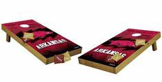Arkansas Razorbacks Pro Edition Cornhole/Bean Bag/Tailgate Toss Set