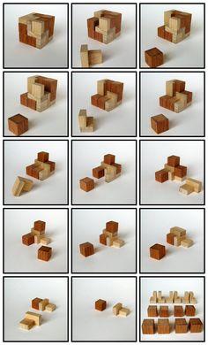Casse-tête - Cube of Cubes - gaufrier
