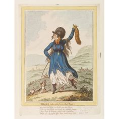 'Diana returned from the Chase.' by James Gillray (1757-1815) via vam.ac.uk