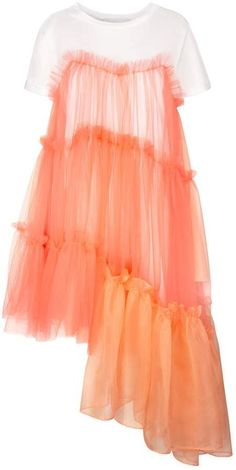 Browse Raven Jersey Tulle Organza Papaya Dress and more from IN.NO at Wolf & Badger - the leading destination for independent designer fashion, jewellery and homewares. Looks Party, Designer Dresses, Designer Clothing, Organza Dress, Fashion 2020, Fashion Trends, Womens Fashion, Mode Inspiration, Fashion Inspiration