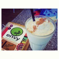The most perfect iced #Bondi #Chai  #chai #bondi #bondichai #drink #cinnamon #envycafe #cottontree