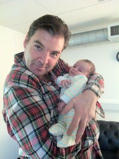 Brendan Coyle AND a baby?! Be still my ovaries.