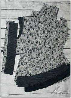 Nachdem ich euch mein schönes >>Missy-Kleid gezeigt hatte, war die Nachfrage nach einem kleinen Tutorial so groß, dass ich euch nun zeigen möchte, wie ich den Hoodie-Schnitt >>Missy<< von Melians kreatives Stoffchaos zu einem Kleid verändert habe. Ich wünsche euch viel Spaß beim Ausprobieren.