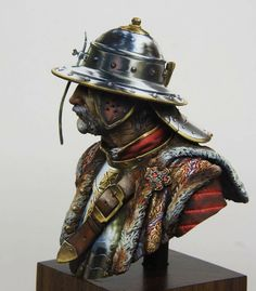 by Kirill Kanaev · Putty&Paint Medieval, Military Figures, Arm Armor, Paint Effects, Mini Paintings, Sculpture, Eastern Europe, Dark Fantasy, Painting Techniques