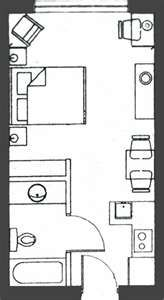 hotel room layout site