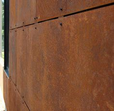 Corten Steel Siding