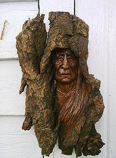 Wood Bark, In Natura, Tree Carving, Wood Tree, Tree Sculpture, Green Man, Native American Art, Tree Art, Wood Crafts