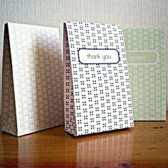 Printable Gable Box  Custom Text and Color by neskita
