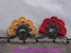 Crochet Flowers, Crochet Lace, Crochet Designs, Crochet Patterns, Crochet Bedspread, Hand Work Embroidery, Crochet Borders, Needle Lace, Saree Dress