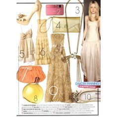 Teen Vogue Editorial Prom Special Shopping Spree, April 2011 Shot #4 -... ❤ liked on Polyvore featuring dakota fanning and editorials