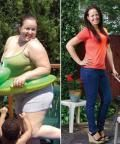 Inspirational! Jennifer Serrano-Ronca's Before and After Weight Loss Photo - Jaw-Dropping Before and After Weight Loss Photos - Shape Magazine