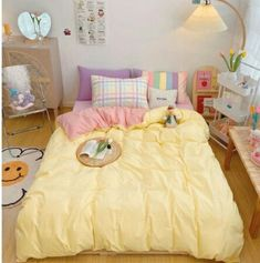 Room Design Bedroom, Room Ideas Bedroom, Bedroom Decor, Pastel Room Decor, Pastel Bedroom, Minimalist Room, Aesthetic Room Decor, Cozy Room, Dream Rooms