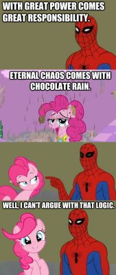 Spider-Man & Pinkie Pie