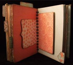 Smash type junk journal  Use all cereal boxes/cracker boxes any recyclables and cover with papers!