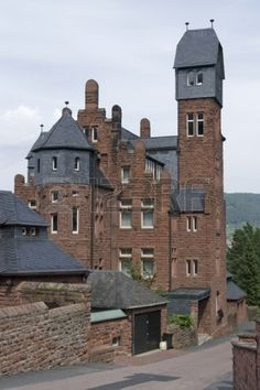 house in Miltenberg, a small town in Southern Germany
