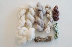 Textures à tisser special laine mèche par julieweaves sur Etsy