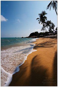 Lamai Beach at Koh Samui, Thailand.  #travel #thailand #koh samui #beach