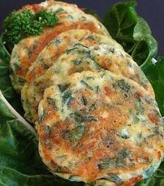 Les farçous, que j'ai dégustés à St Chély , sont excellents ! Pour 18 farçous : 200 gr de vert de blettes 40 cl de lait 4 oeufs 300 gr de farine persil 1 oignon 2 goussses d'ail Préparez la farce en hachant finement au hachoir électrique, le persil avec... Vegetable Recipes, Vegetarian Recipes, Healthy Recipes, Vegeterian Dishes, Nuggets, Lamb Burgers, Fries Recipe, Going Vegan, Food Videos