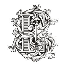 Trendy Woodworking Books Coloring Pages Gothic Lettering, Tattoo Lettering Fonts, Lettering Styles, Graffiti Lettering, Lettering Design, Cool Typography, Creative Lettering, Vintage Typography, Typography Letters