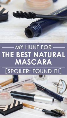 Looking for the best natural mascara? Well I've got you covered: I tried 10 popular natural mascaras and put them to the test. Find out which ones were the best and which failed!