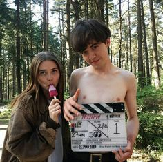 The End of the F***ing world Movies And Series, Movies And Tv Shows, Tv Series, Shows On Netflix, Netflix Series, The End, End Of The World, James And Alyssa, Ing Words
