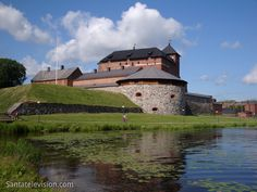 Häme Castle in the Town of Hämeenlinna in Southern Finland