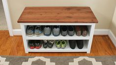 So I'm really tired of storing my shoes in piles in the farthest corner of my closet. There is never enough floor space in a small closet, and before you know it, you are making... Read More