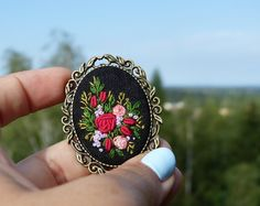 Browse unique items from EmbroideredJewerly on Etsy, a global marketplace of handmade, vintage and creative goods.