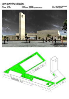 Central Mosque, Jobs Apps, Place Of Worship, Facade, Cami, Behance, Architecture, Places, Toco Toucan