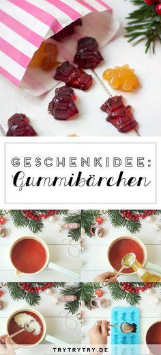 DIY Gummibärchen - kleines Geschenk zu Weihnachten
