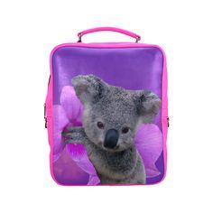 Koala Square Backpack FREE Shipping. FREE Returns. #lbackpacks #koala