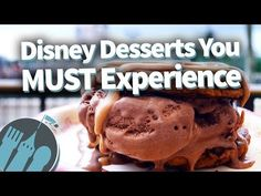 We're always on the hunt for new Disney eats, and these are some of our favorite desserts in Disney World right now! Disney Vacations, Disney Trips, Disney Parks, Disney World Food, Walt Disney World, Disney Desserts, Disney Dining, Disney Magic, Places To Eat