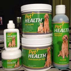 Pet Health to make my babies healthy & smelling good!  www.shop.com/amador