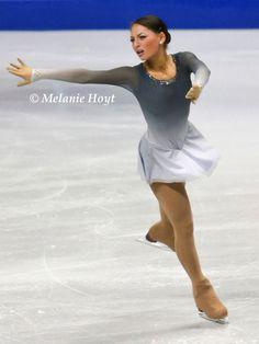 Grey Figure Skating / Ice Skating dress inspiration for Sk8 Gr8 Designs.