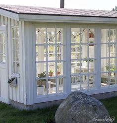 Greenhouse watering systems can comprise simple or advanced, depending on your greenhouse type. Lear about the various types of greenhouse watering systems. Window Greenhouse, Greenhouse Shed, Greenhouse Gardening, Outdoor Rooms, Outdoor Living, Pavillion, Studio Shed, She Sheds, Garden Structures