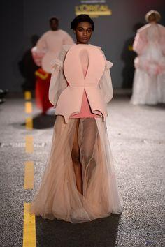 Gracie Wales-Bonner (Fashion Design with Marketing) CSM 2014 Graduate fashion show.