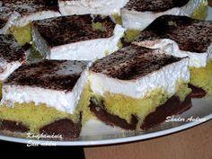 Hasznos cikkek és receptek: Üdítő pudingos sütemény Tiramisu, Cheesecake, Food And Drink, Cookies, Ethnic Recipes, Desserts, Kuchen, Crack Crackers, Cheesecakes