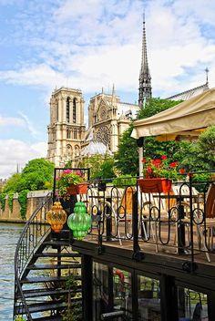 River deck view ~ Paris