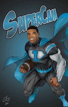Cam Newton turn into SUPERCAM!!!!! SUPERMAN!!!!! AAAAAAAAAAAHHHHHHHHHHHH!!!!!! What!!?!! The Carolina Panthers QB Keep Pounding