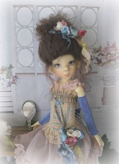 8 Pc. Outfit For MSD Kaye Wiggs, Lasher, Bo Bergemann, Macario and Dollstown BJD