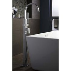 Find, Shop for and Buy American Standard 7184.951.002 Square Tub filler with handshower at QualityBath.com for $873.14 with free shipping!