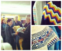 Kate Davies trunk show at Shetland Wool Week. Can't wait for her book!!