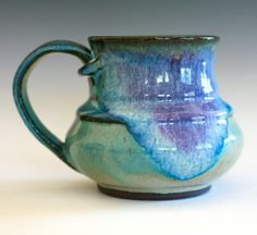 Coffee Mug handmade ceramic cup ceramic stoneware mug by ocpottery