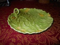 Vintage Royal Bayreuth Cabbage dishTiny yellow flowers Great Condition Must See #RoyalBayreuth