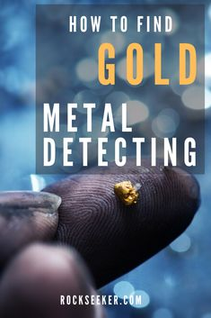 You'll want to check out these tips for metal detecting for gold. This article shares 5 tips and techniques on how to find gold with a metal detector specifically in creeks beds. So check them out before you set out on another gold prospecting trip. Metal Detecting Finds, Gold Detector, Magnet Fishing, Gold Prospecting, Types Of Gold, Rock Hunting, Free To Use Images, Beach Rocks, Rock Collection