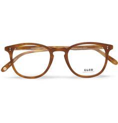 Garrett Leight California OpticalKinney D-Frame Acetate Optical Glasses|MR PORTER