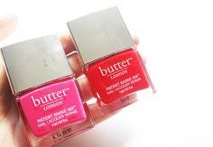 Butter London Patent Shine 10x Nail Lacquers in Flusher Blusher & Smashing!