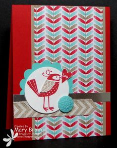 Love You More stamp set, Fresh Prints paper stack. Occasions Mini catalog.