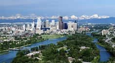 Calgary is the largest city in the province of Alberta in Canada, situated at about 80 km east at the foothills of the Rocky Mountains and the hills and prairies of the Canadian basin. Ottawa, Santa Lucia, Calgary Canada, Quebec, Ontario, Trinidad Y Tobago, Canadian Rockies, Travel Tours, Rocky Mountains